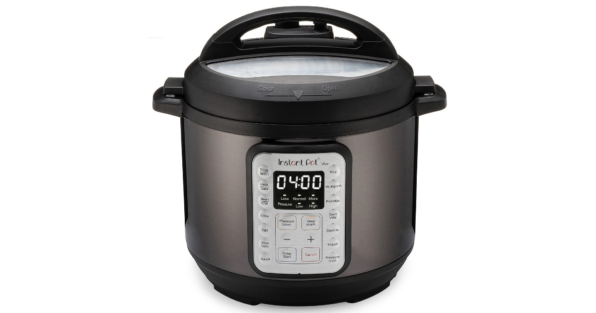 Instant Pot VIVA 6-Qt 9-in-1 Multi-Cooker ONLY $49 (Reg. $100)
