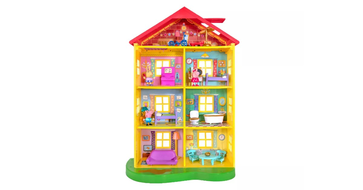 Peppa Pig Fancy Family Home Pl...