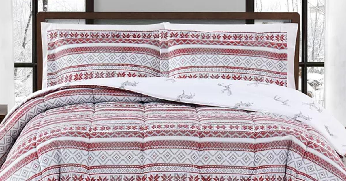 3-Piece Any SizeComforter Sets ONLY $19.99 (Reg. $80)