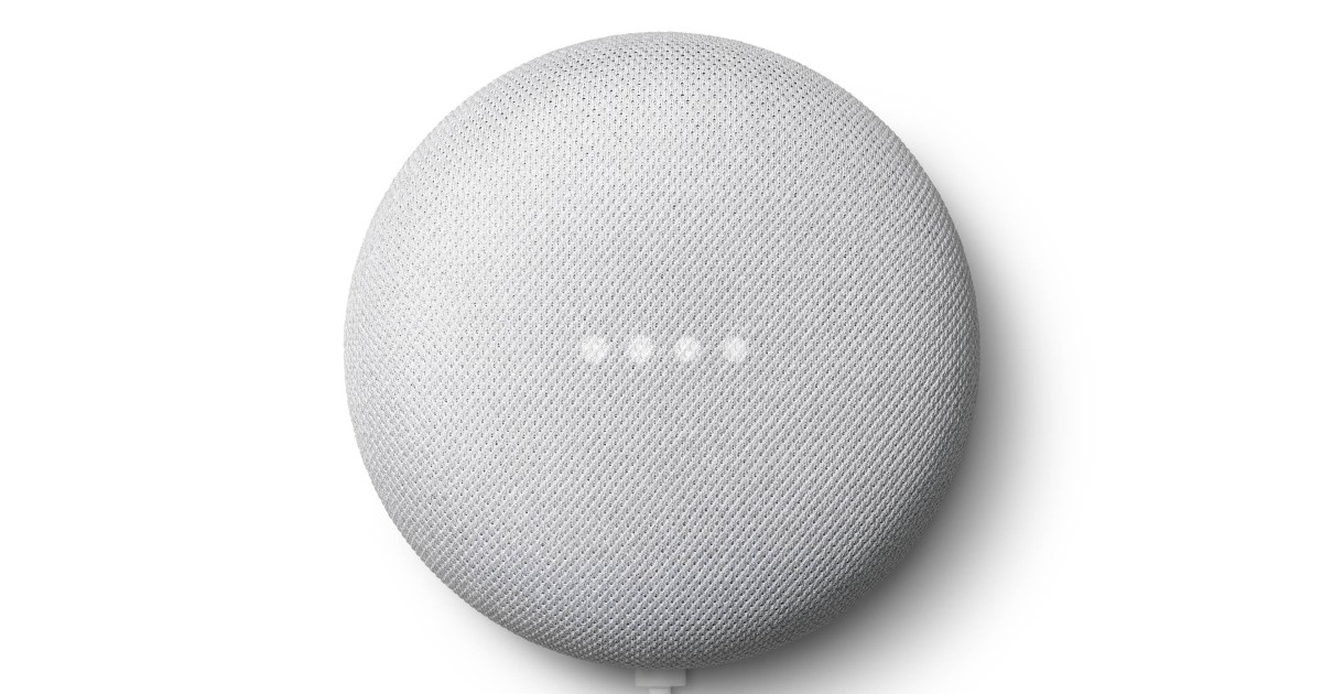 Google Nest Mini V2 ONLY $18.9...