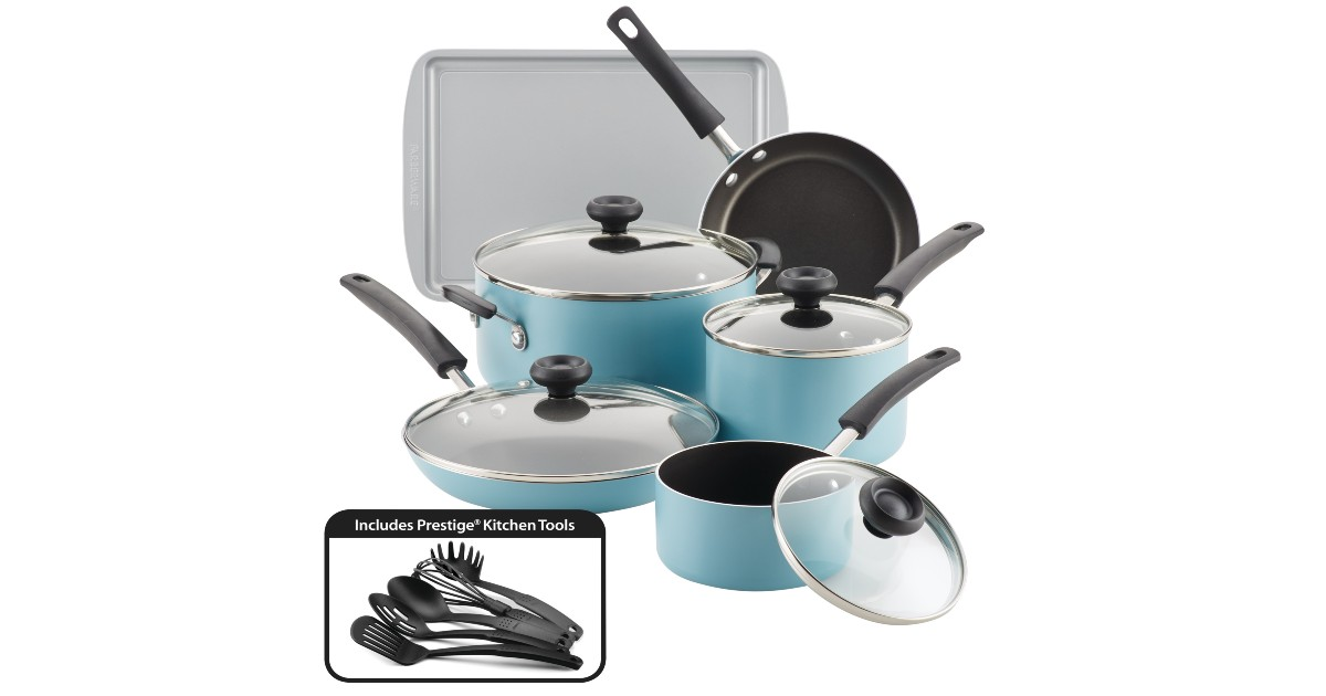 Farberware 15-Piece Cookware S...
