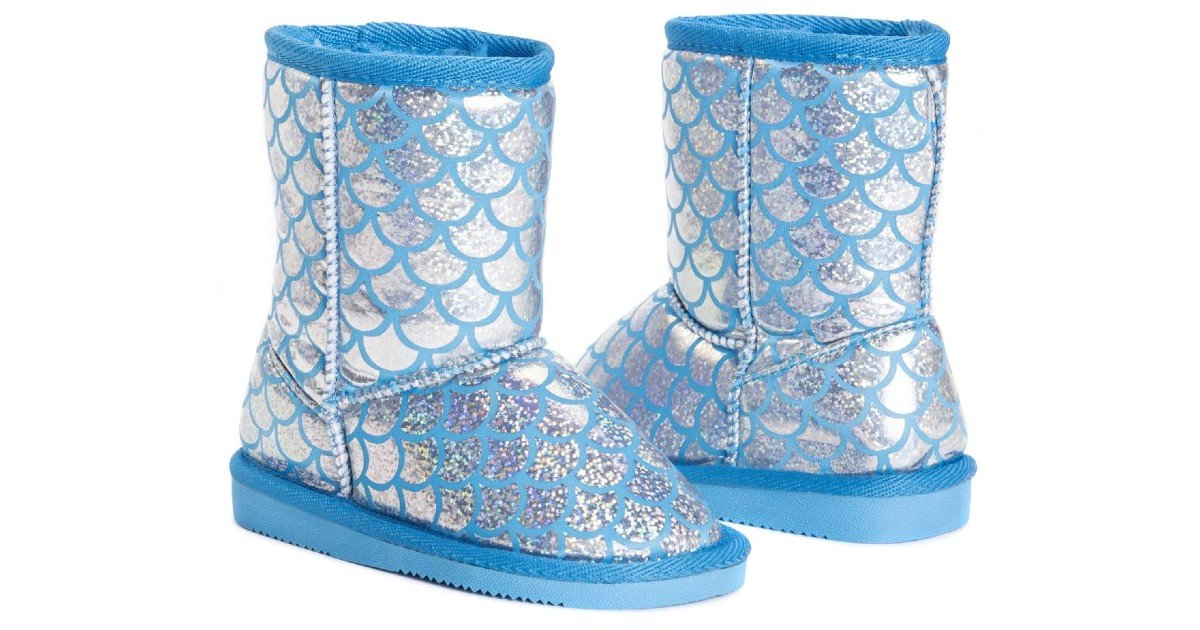 MUK LUKS Kids Mermaid Boot ONLY $12.99 (Reg. $44)