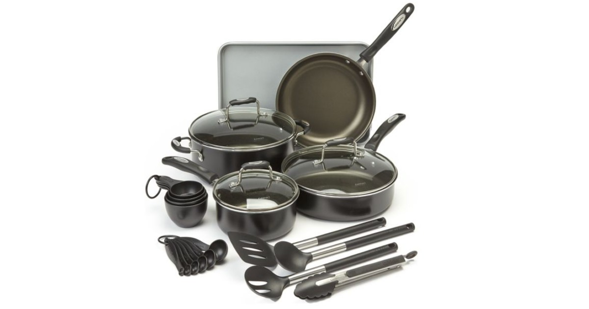 Cuisinart 22 Piece Aluminum Kitchen Set at Belk ONLY $69.99 (Reg $200)