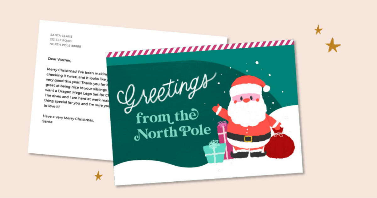 FREE Personalized Postcard fro...