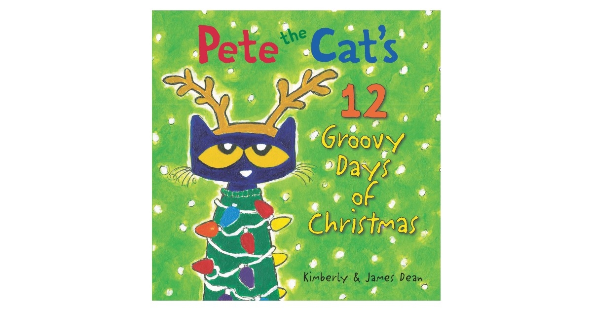 Pete the Cat Hardcover Book on Amazon
