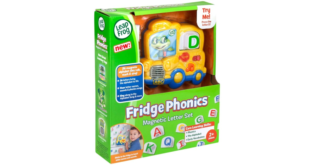 LeapFrog Fridge Phonics at Amazon