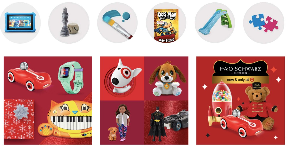 Target Toy Coupon: $25 off $100 or $10 off $50 + Free Shipping