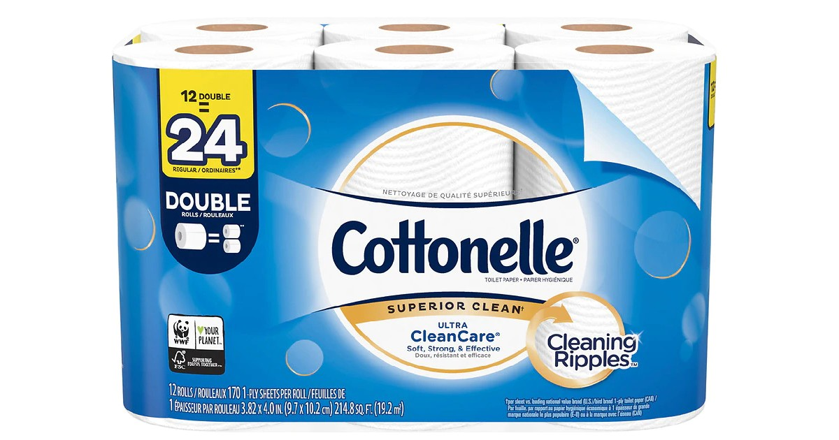 Cottonelle at Walgreens