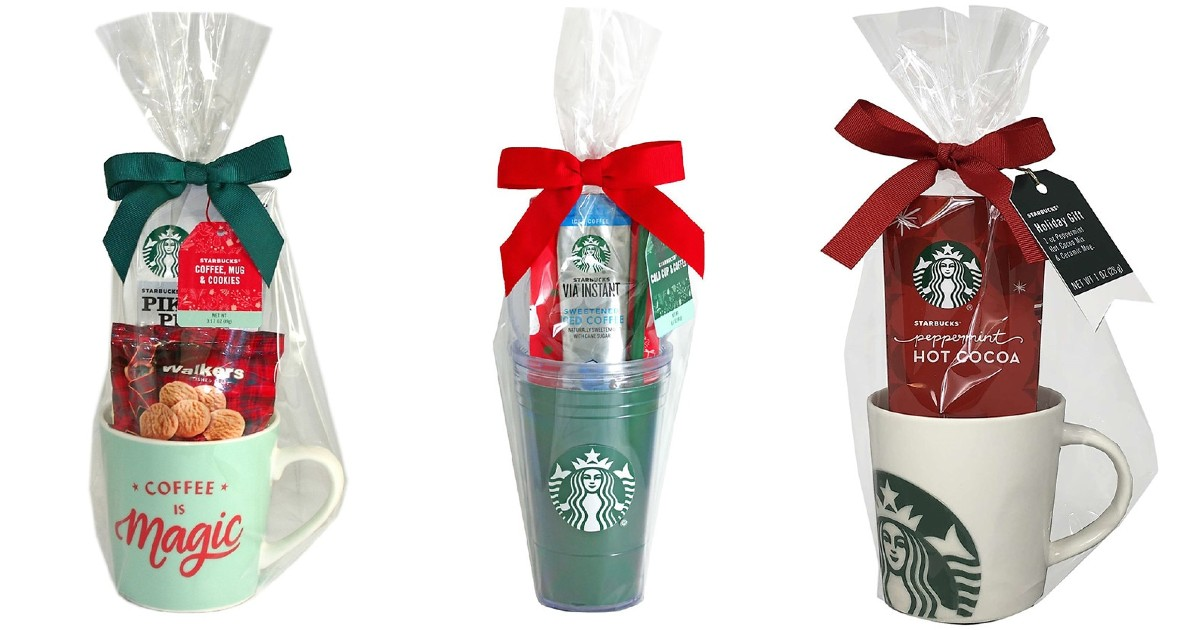50% Off Starbucks Gift Sets + Free Store Pickup