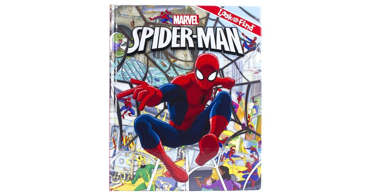 Marvel Spider-Man Look and Find Activity Book $5 (Reg. $11)