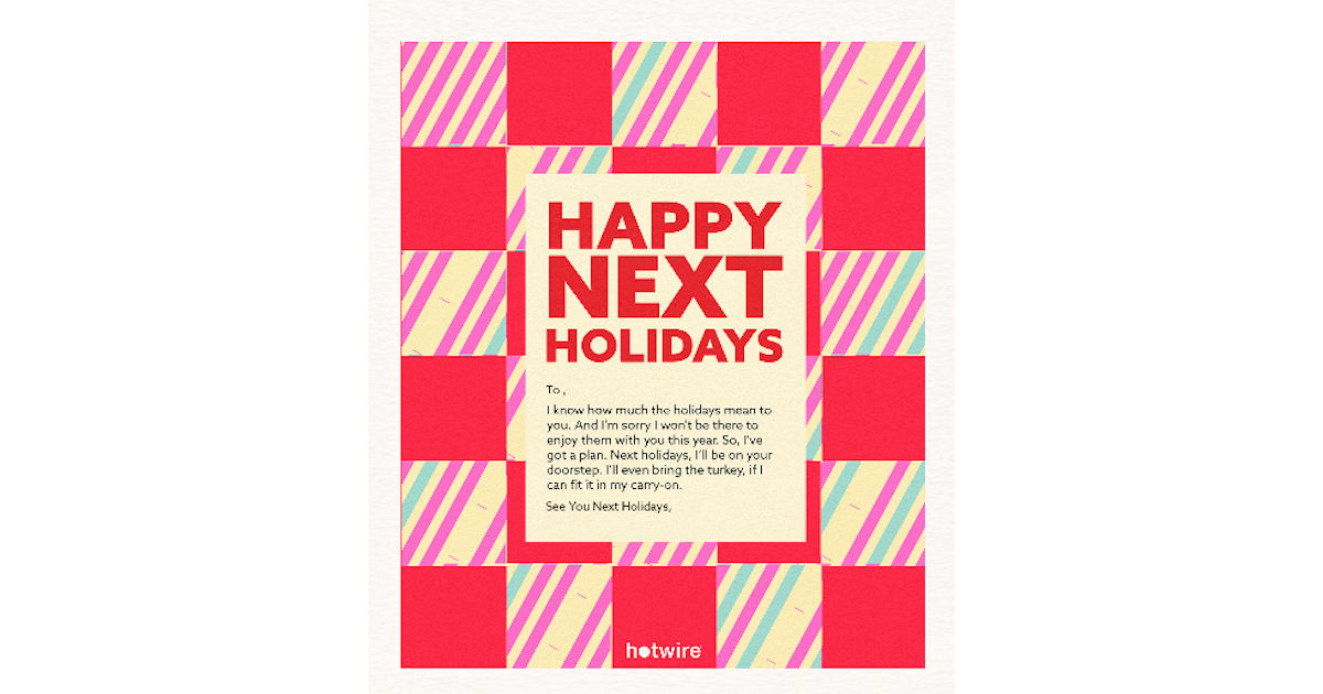 FREE Happy Next Holidays Postc...