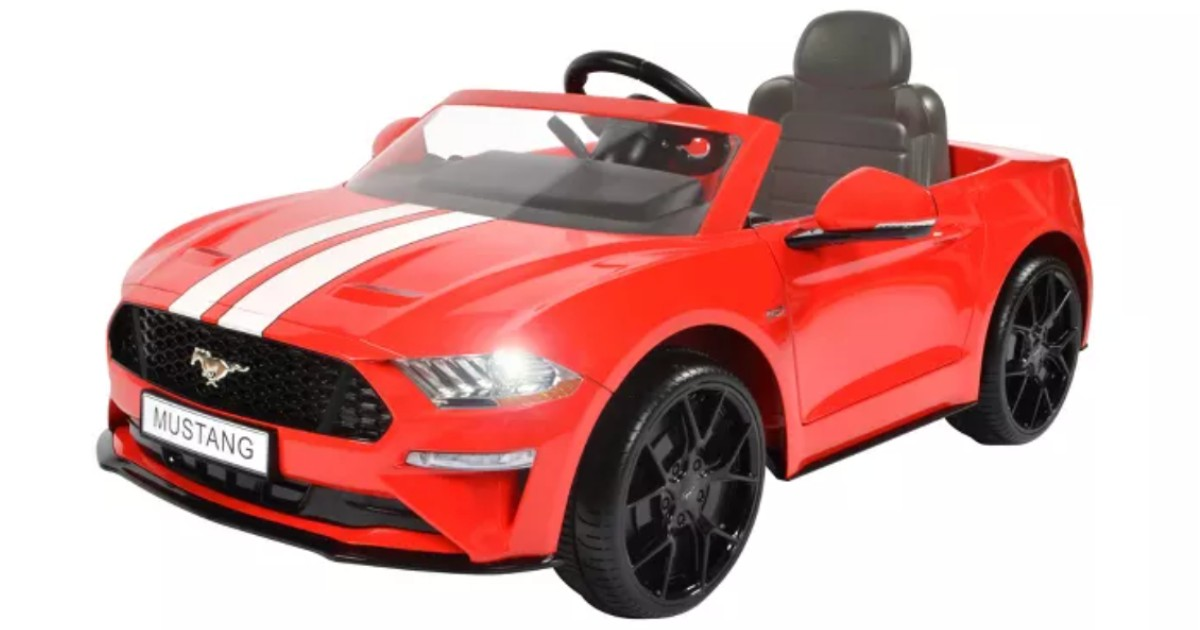 Rollplay 6V Ford Mustang Ride.