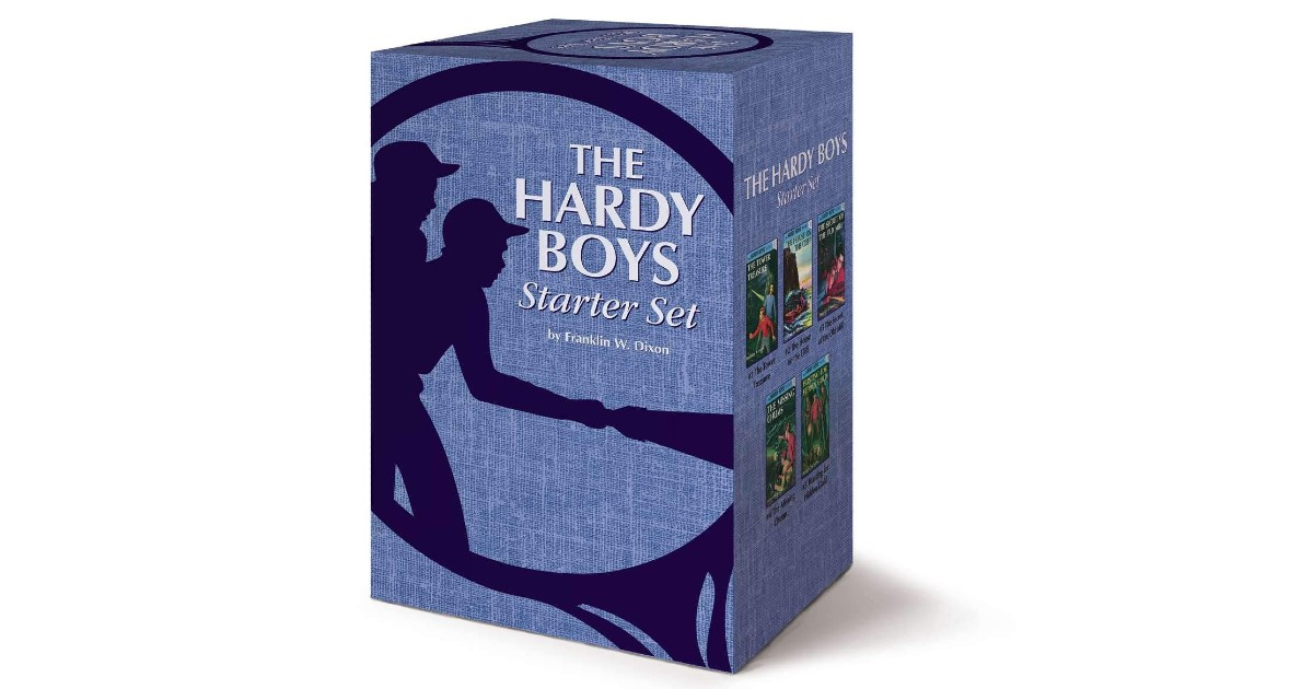Hardy Boys Hardcover Book Starter Set ONLY $15.63 (Reg. $37)