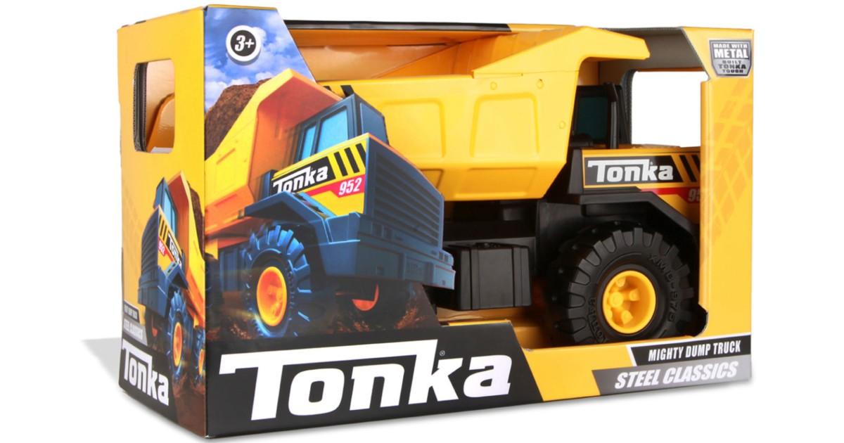Tonka Steel Classics Mighty Dump Truck ONLY $26.24 (Reg $35)