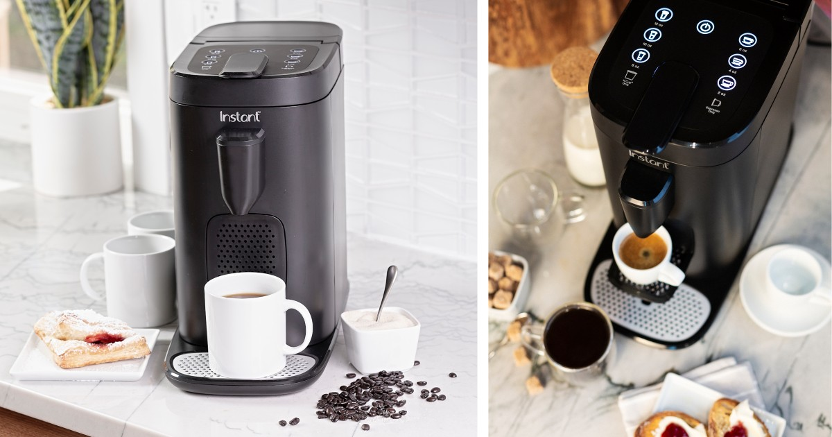 Instant Pod Coffee & Espresso Maker ONLY $79.88 (Reg $119)