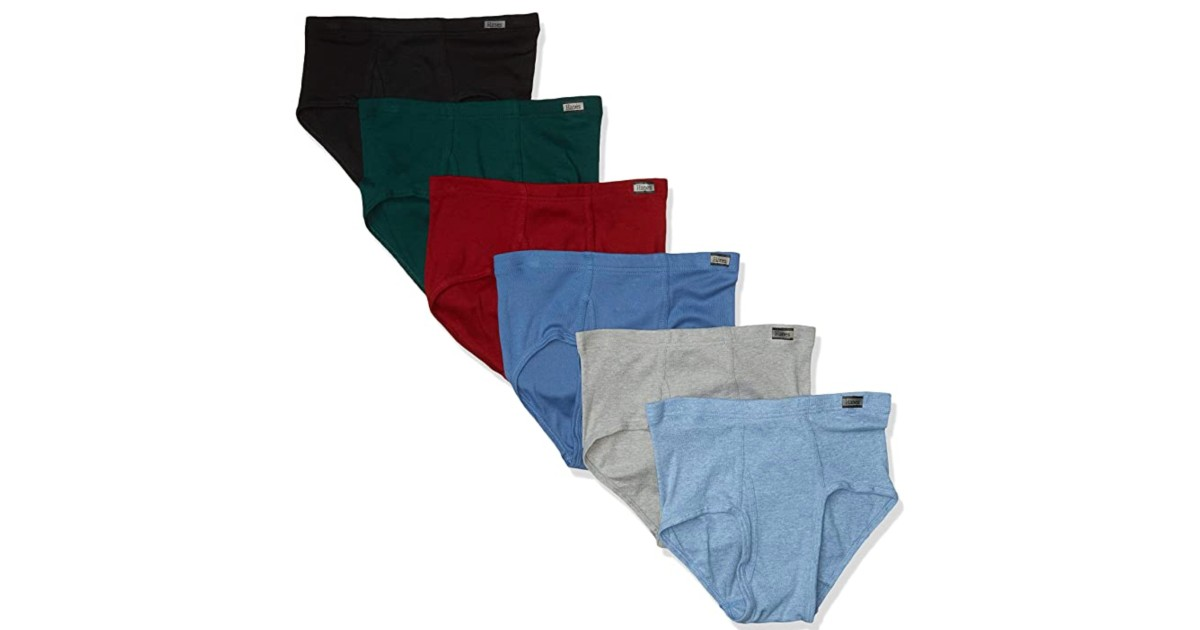 Hanes Men's Briefs 6-Pack ONLY $11.19 at Amazon