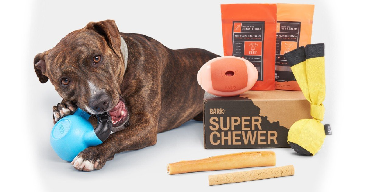 Free Extra Month and Free Shipping fromSuper Chewer