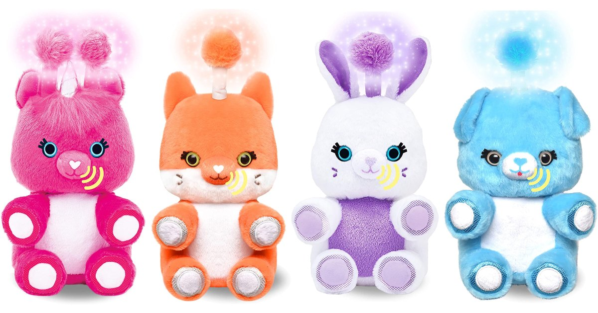 Fuzzible Friends Interactive Plush ONLY $11.99 (Reg. $20)
