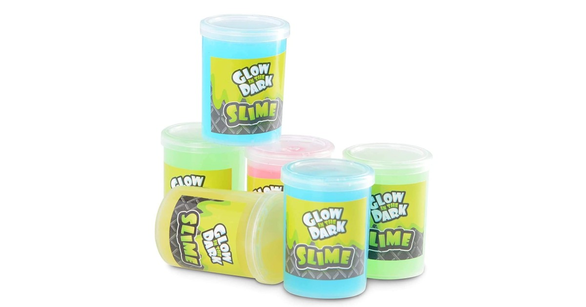 Glow in The Dark Slime 6 Pack ONLY $8.49 (Reg. $20)