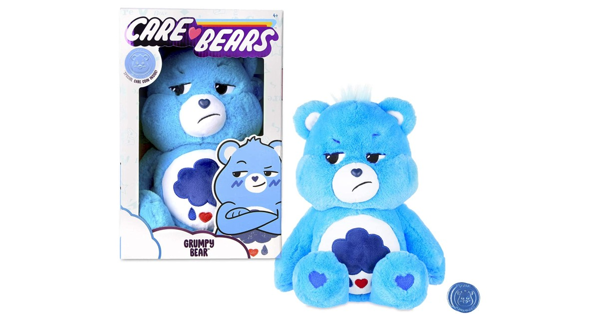 Care Bears Grumpy Bear Stuffed Animal ONLY $6.88 (Reg. $15)