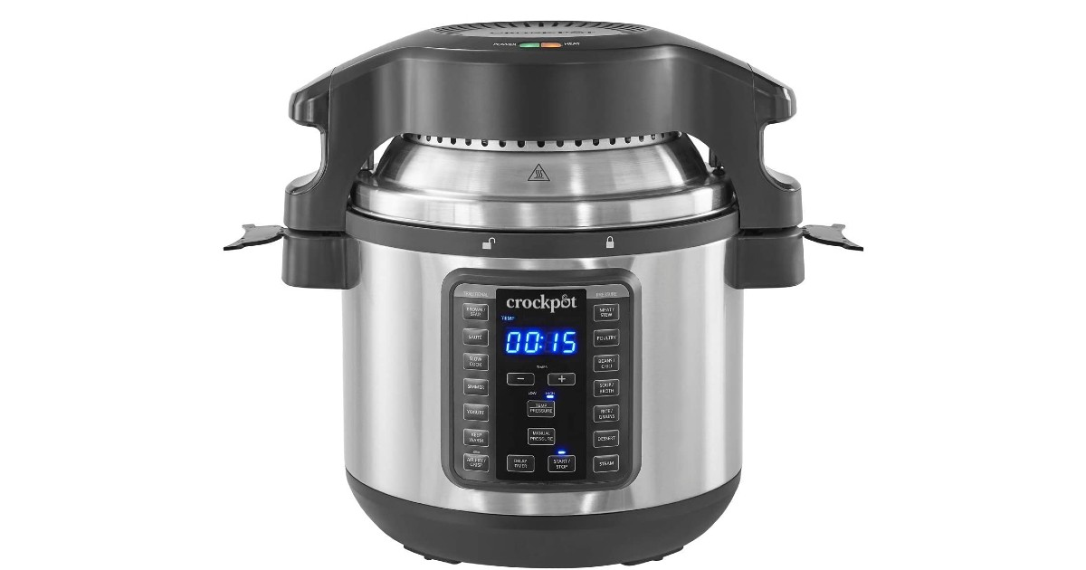 Crock-Pot 8-Quart Pressure Cooker