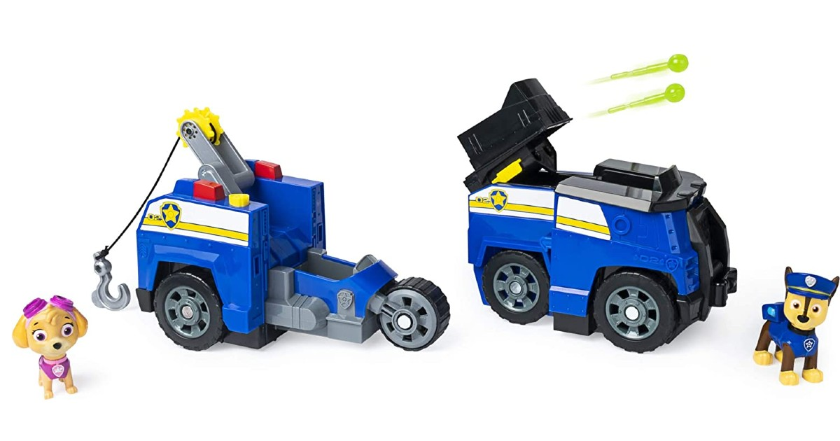 Paw Patrol 2-in-1 Transforming Police Cruiser $12.49 (Reg. $25)