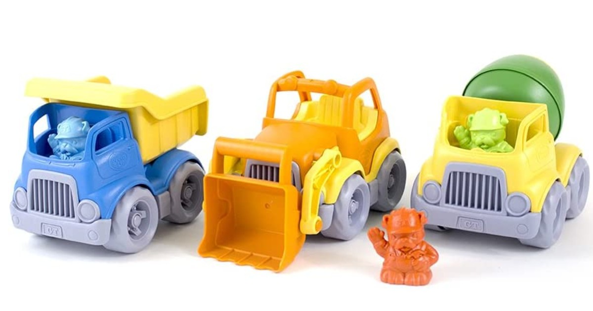 Green Toys Construction Vehicle 3-Pack ONLY $13.19 (Reg. $35)