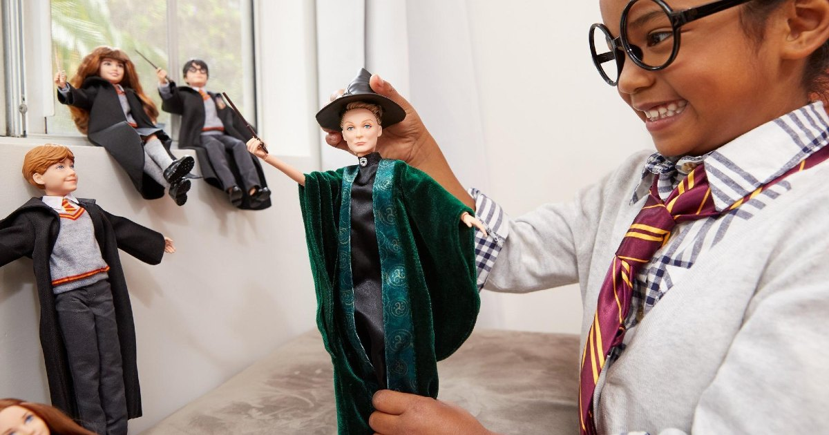 Harry Potter Minerva McGonagall Doll ONLY $9.88 (Reg. $21)