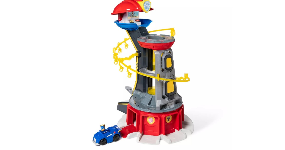PAW Patrol Mighty Pups Lookout Tower ONLY $43.99 (Reg. $88)