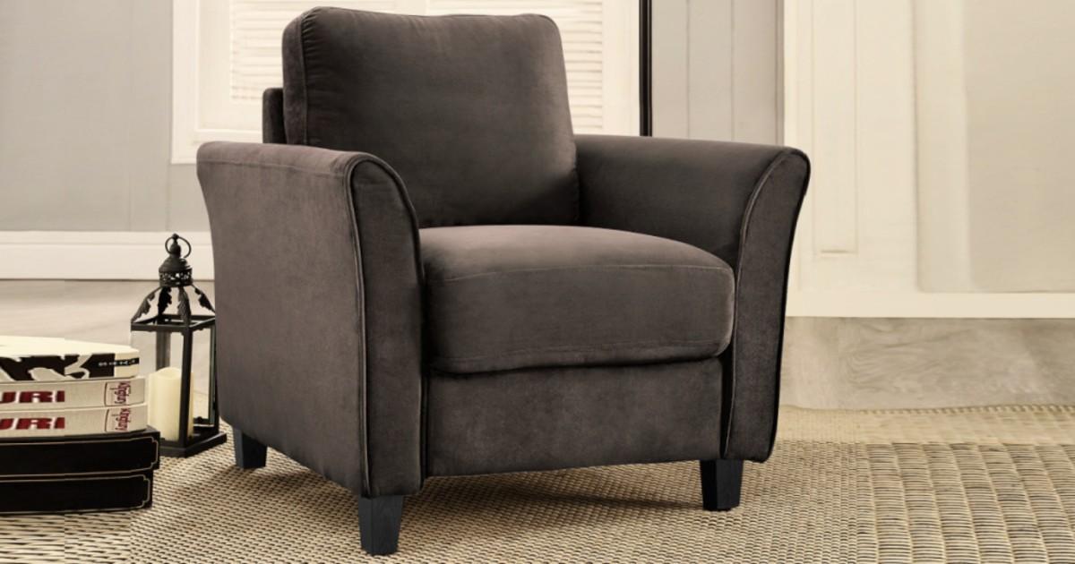 Microfiber Armchair ONLY $139.