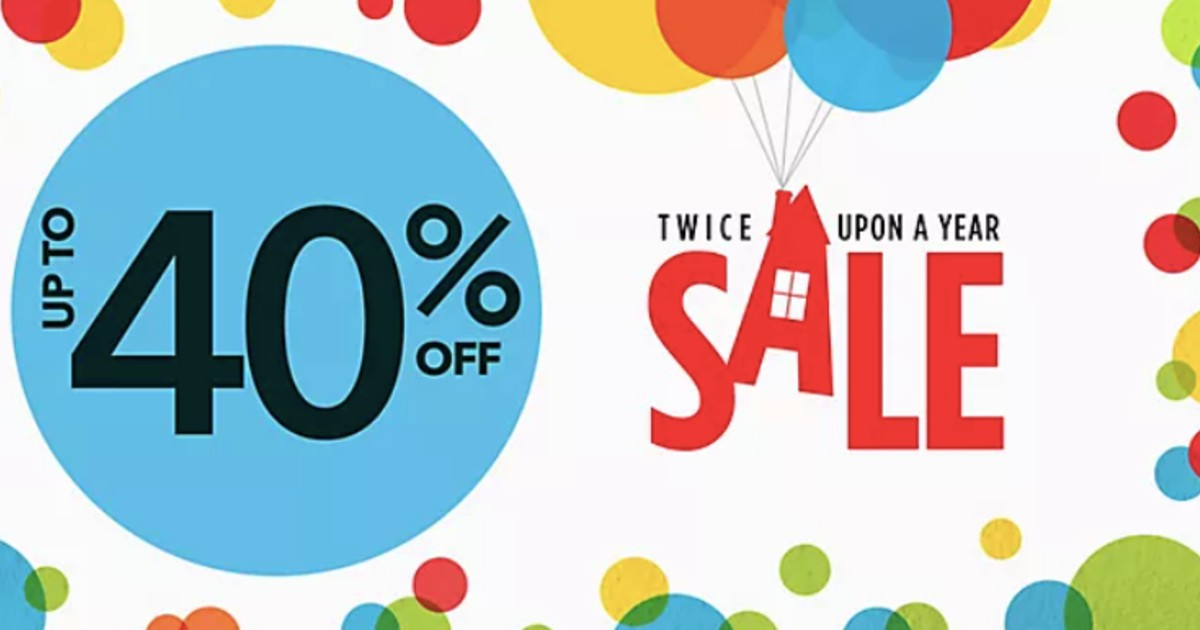 Twice Upon a Year Sale Starts Now: up to 40% Off at ShopDisney