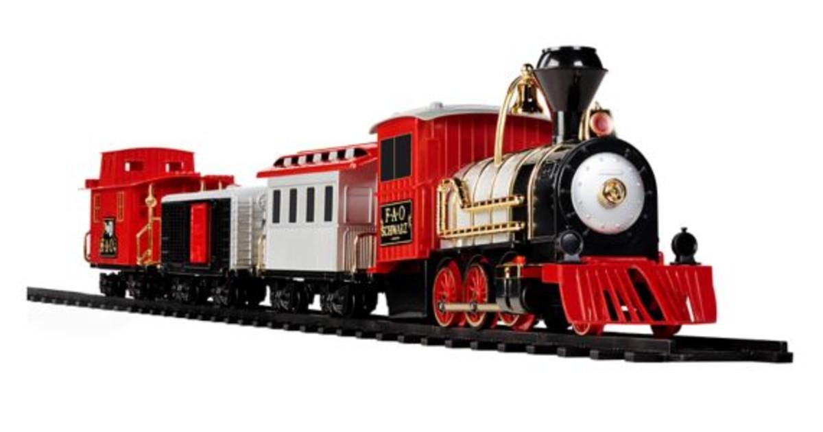 Motorized Train Set with Sound 30-Piece ONLY $42 (Reg $140)