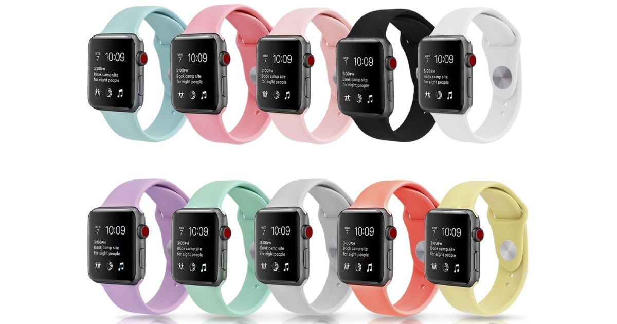 Silicone Apple Watch Band ONLY $7.99 Shipped (Reg $50)