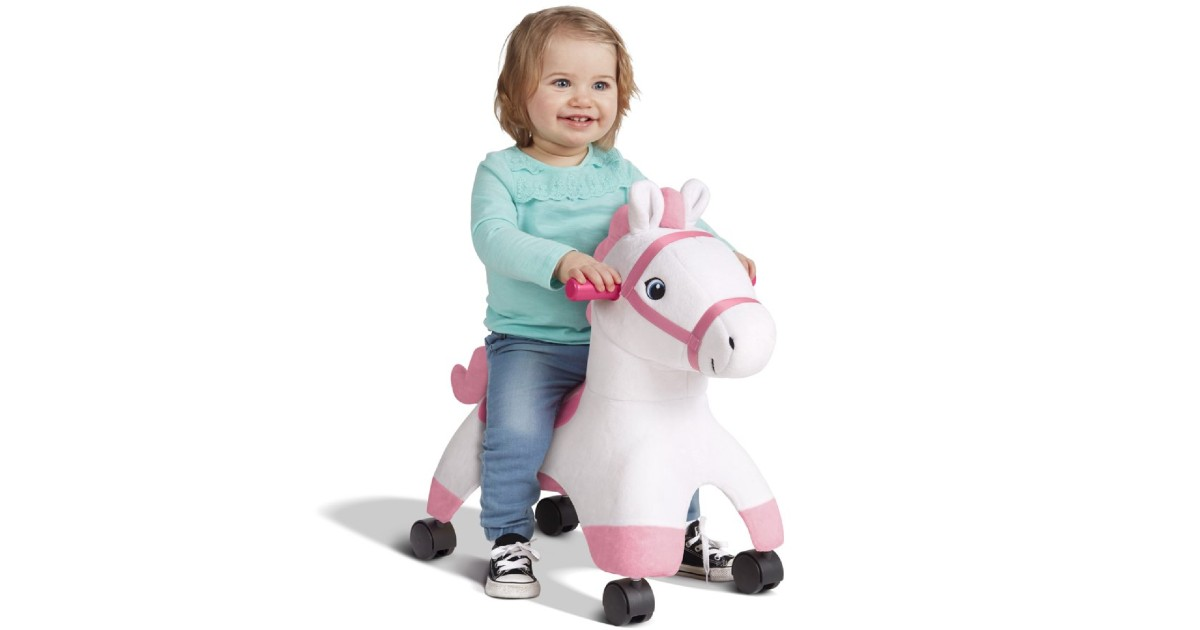 Caster Ride-on Horse ONLY $19.94 at Walmart (Reg $30)
