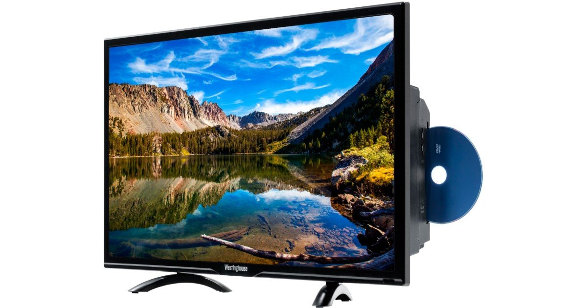 Westinghouse 24-In DVD Combo HD TV ONLY $89.99 (Reg $150)
