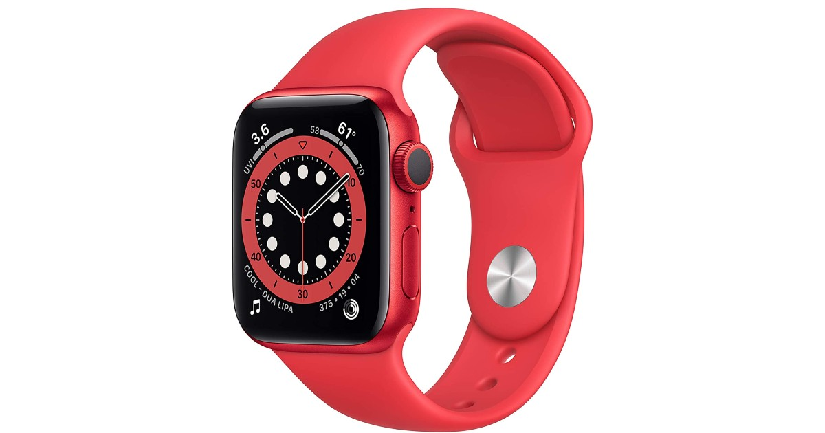 New Apple Watch Series 6 GPS 40mm ONLY $339.99 (Reg $400)