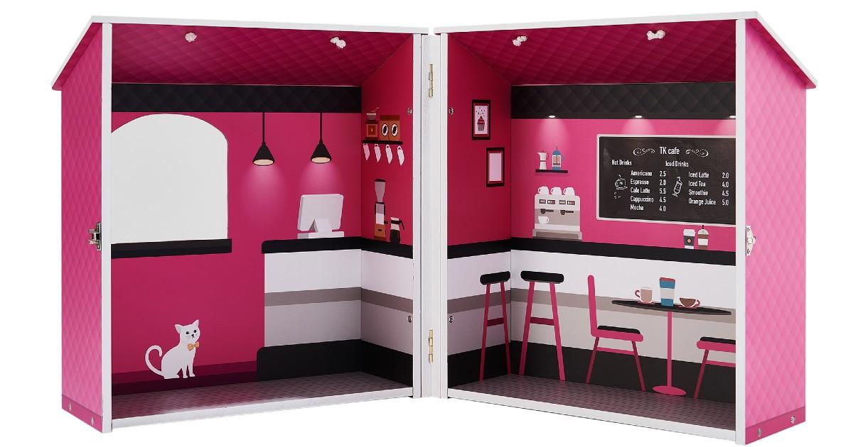 Teamson Dreamland City Cafe Doll House ONLY $20 (Reg. $58)