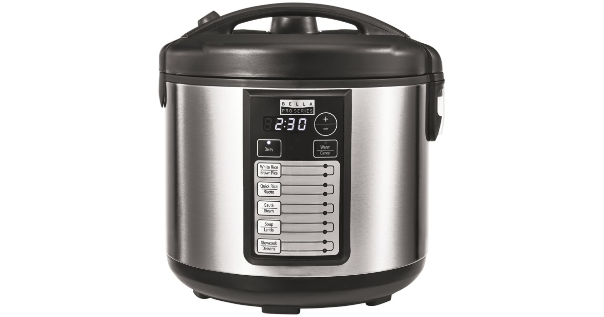 Bella Pro Series Rice Cooker at Best Buy