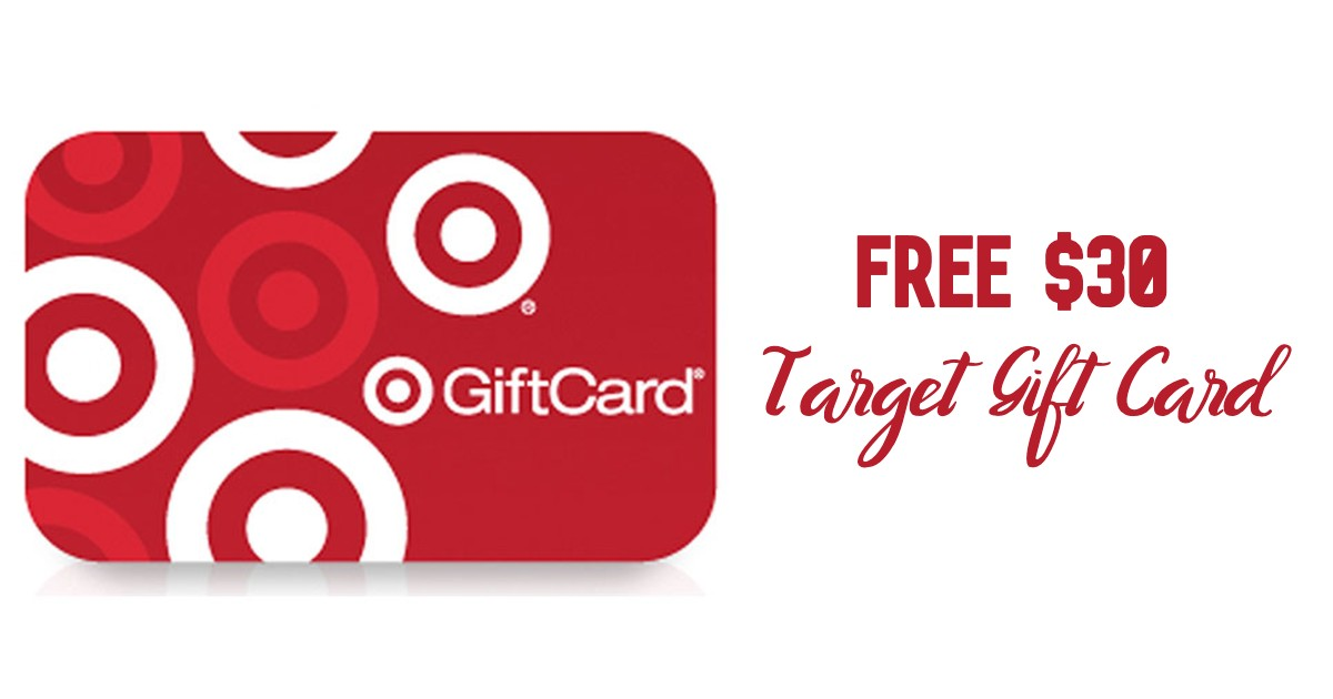 FREE $30 Target Gift Card w/ $100 Baby Items Purchase