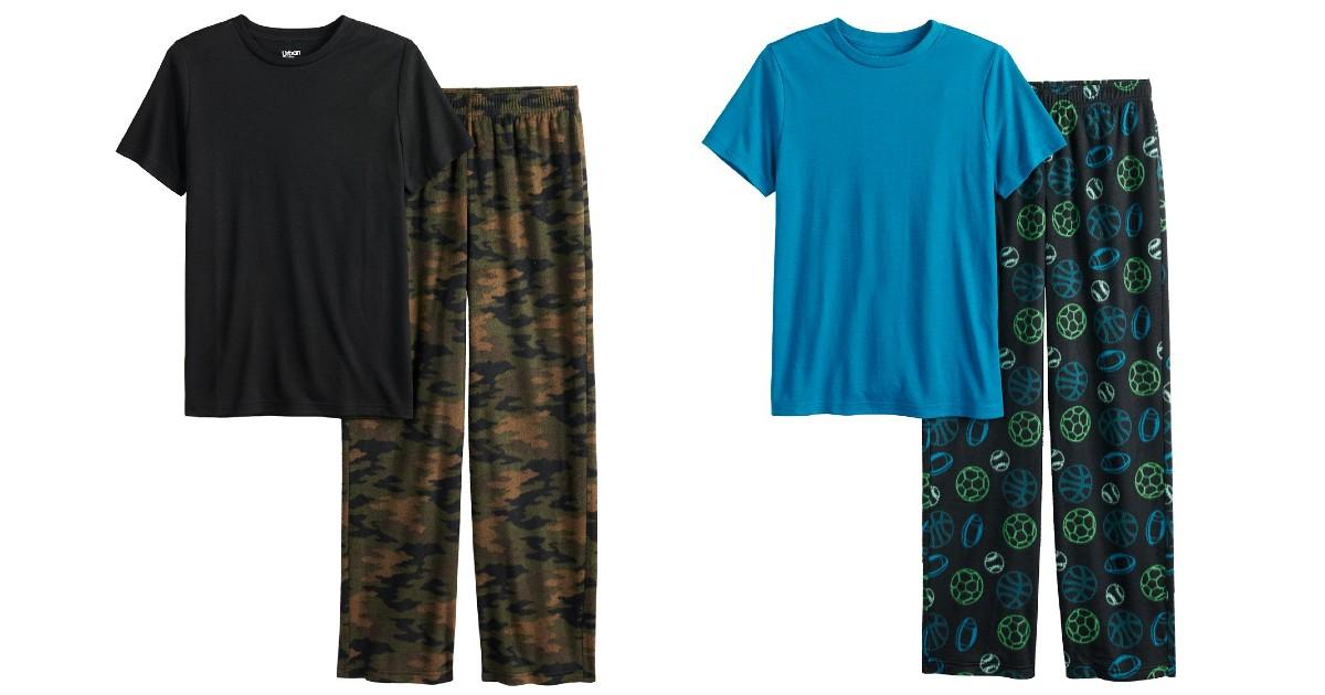 Boys' Pajama Set ONLY $8.50 at Kohl's (Reg $25)