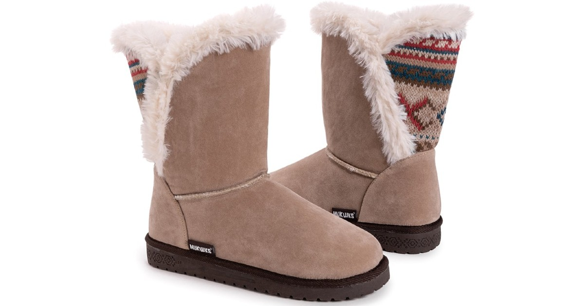 Peal & Mousse Carey Wrap Boot ONLY $19.99 (Reg $65)