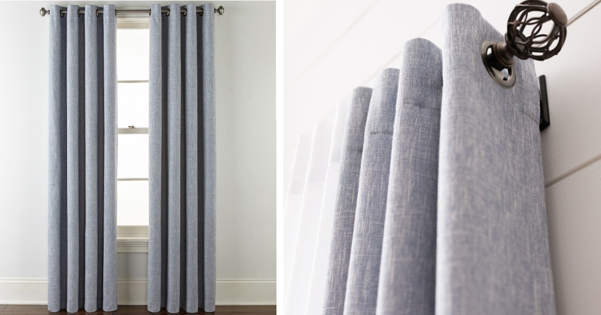 Blackout Curtains ONLY $9.99 at JCPenney