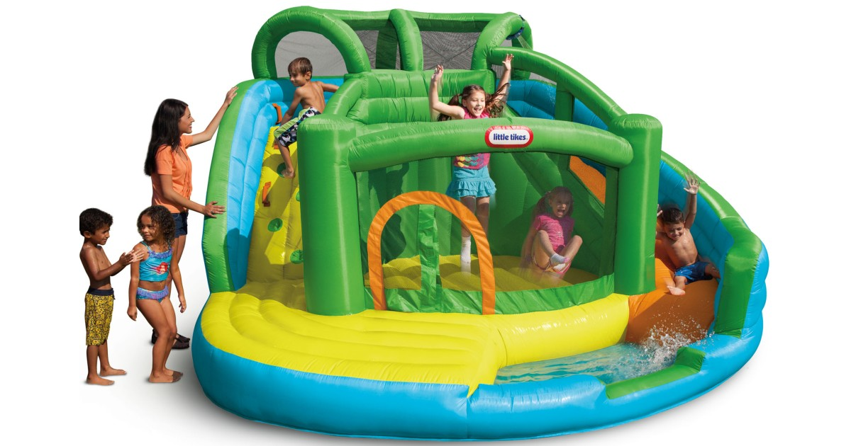 Little Tikes Waterslide and Bouncer ONLY $329 Shipped (Reg $600)
