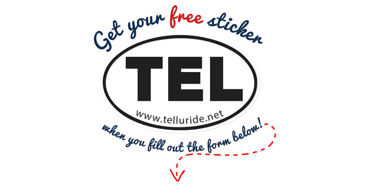 FREE TEL Sticker