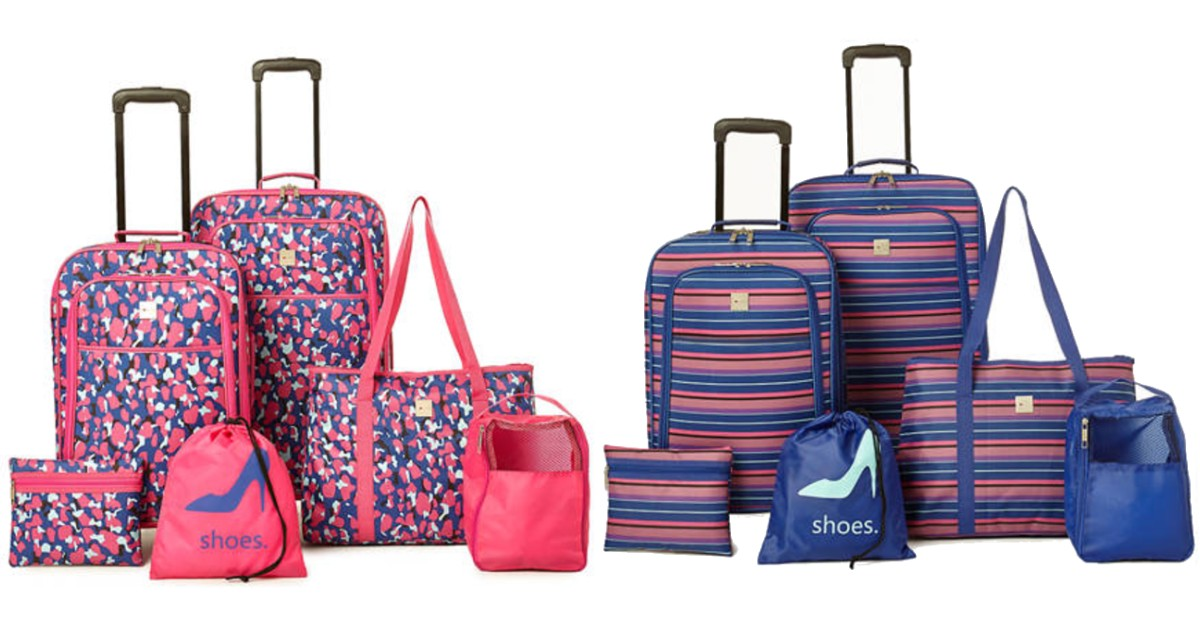 Spinner Luggage 6 Piece Set ONLY $72 at Belk (Reg $180)