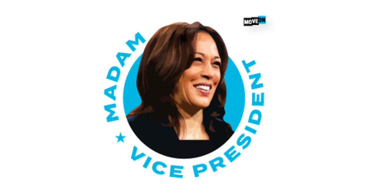 FREE Madam Vice President Sticker
