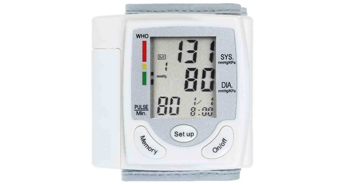 Wrist Blood Pressure Monitor ONLY $14.19 Shipped (Reg $29)