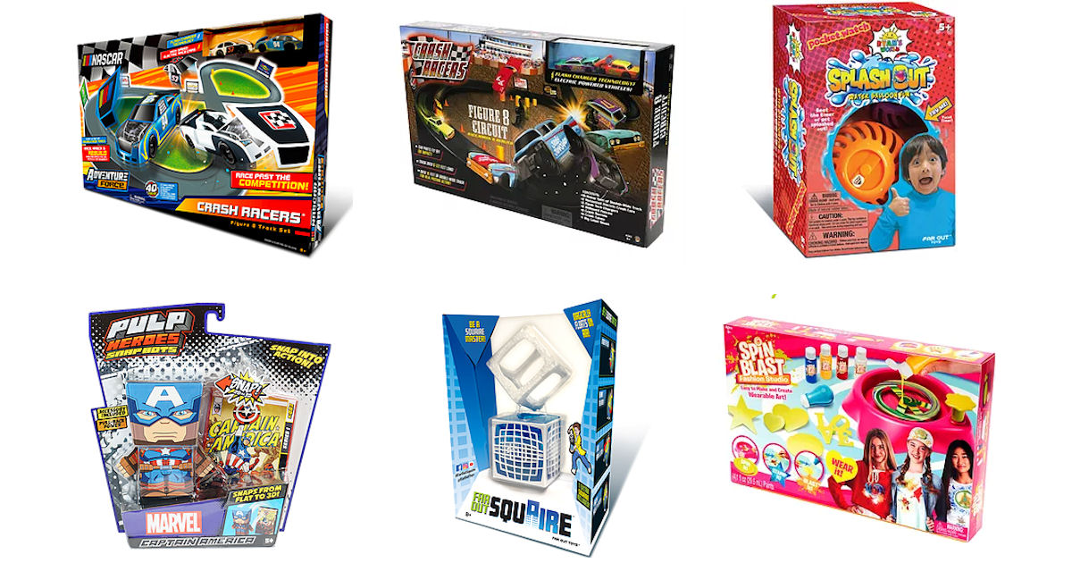 FREE Far Out Toys Products