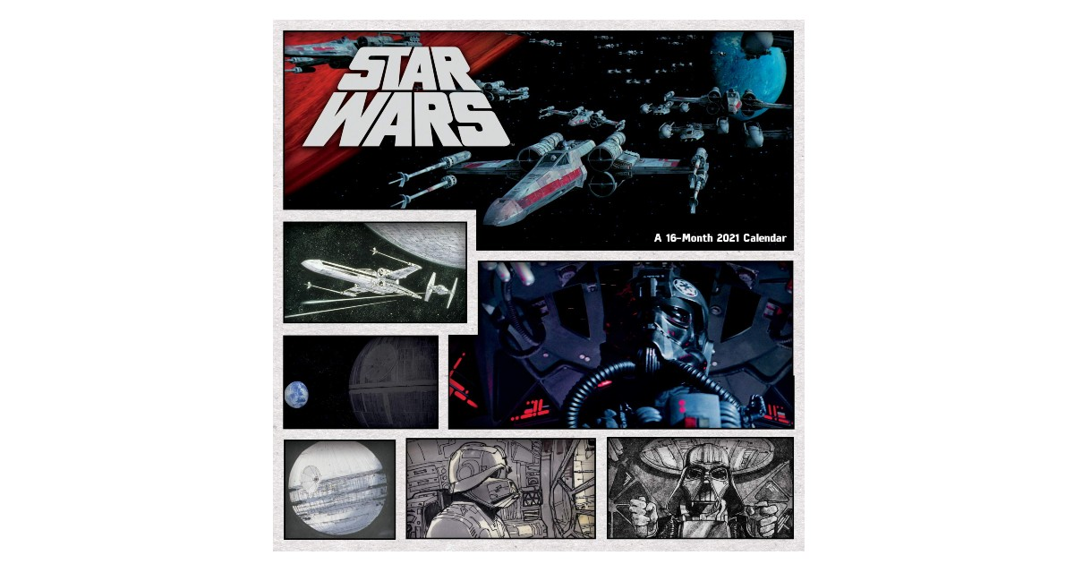 2021 Star Wars Wall Calendar ONLY $6.99 (Reg. $15)