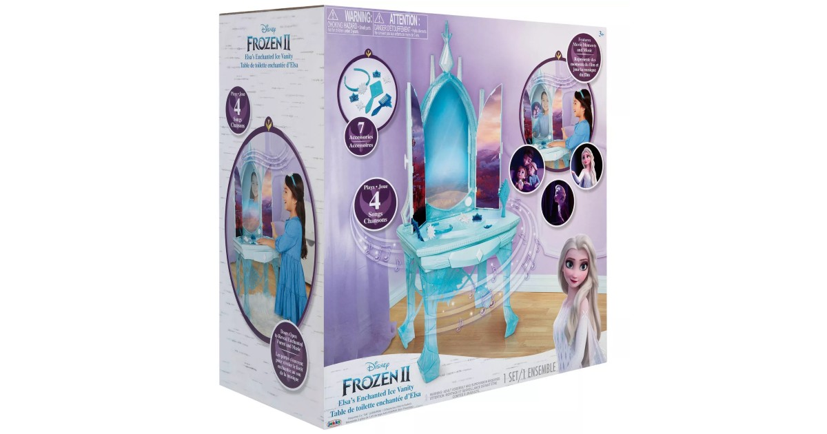 Disney Frozen 2 Elsas Ice Vanity ONLY $34.99 at Target (Reg $80)